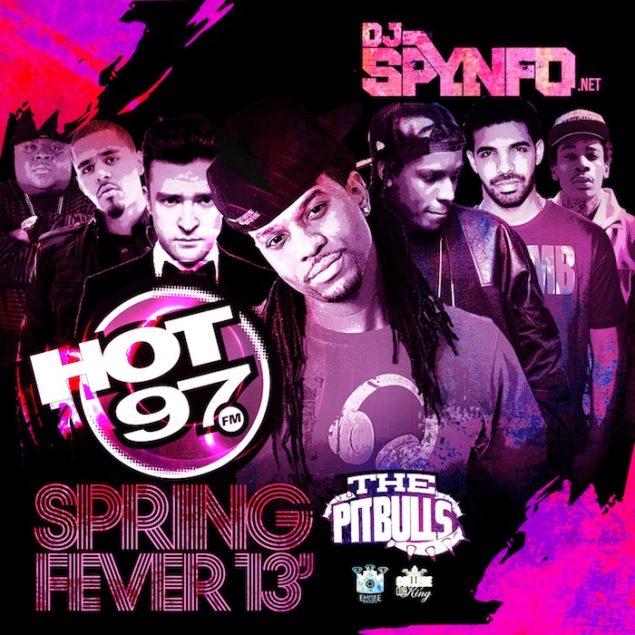 DJ SPYNFO'S HOT 97 HEAT SPRING 2013
