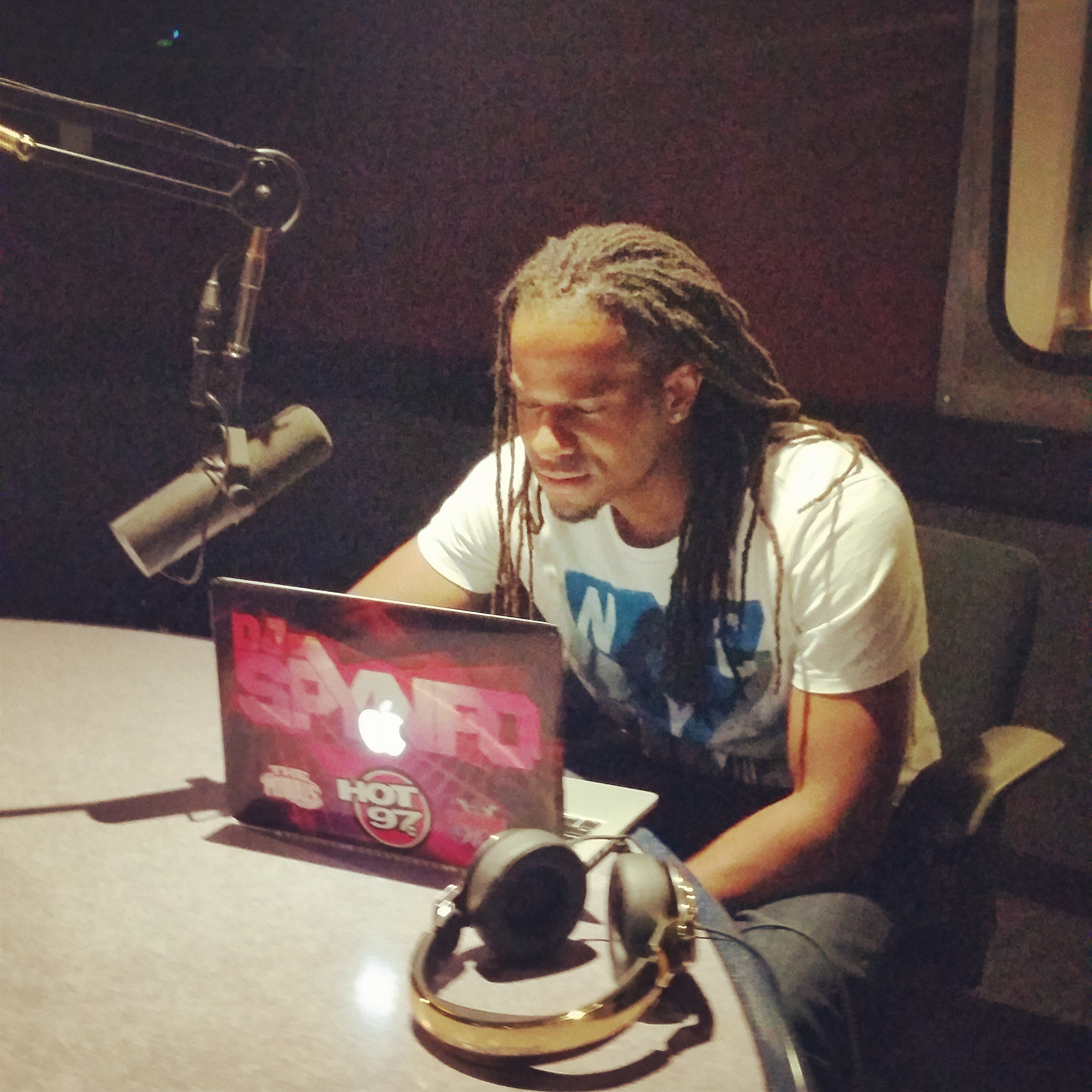 Live on Hot 97 July 27th 2014