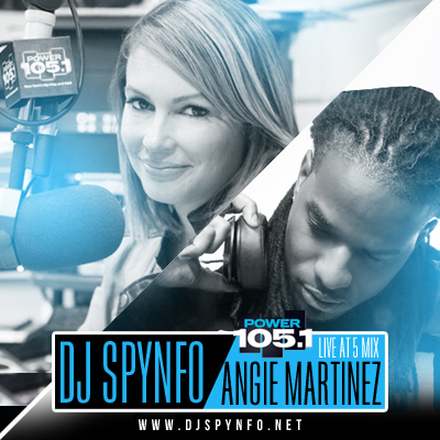 Spynfo Live at 5 with Angie Martinez